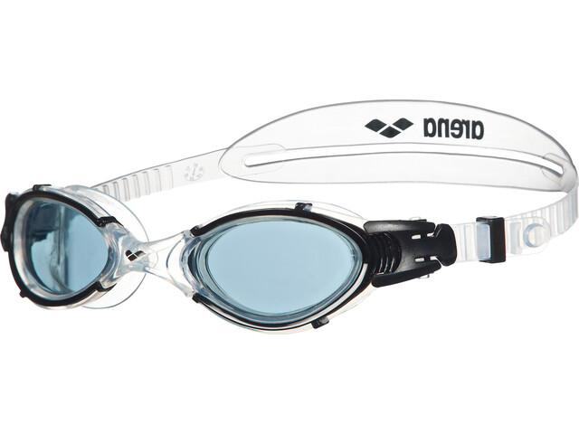 arena Nimesis Crystal Medium Swim Goggles smoke-clear-black